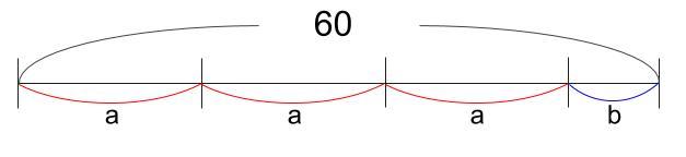 中学数学・高校受験chu-su- 等式 割り算 図