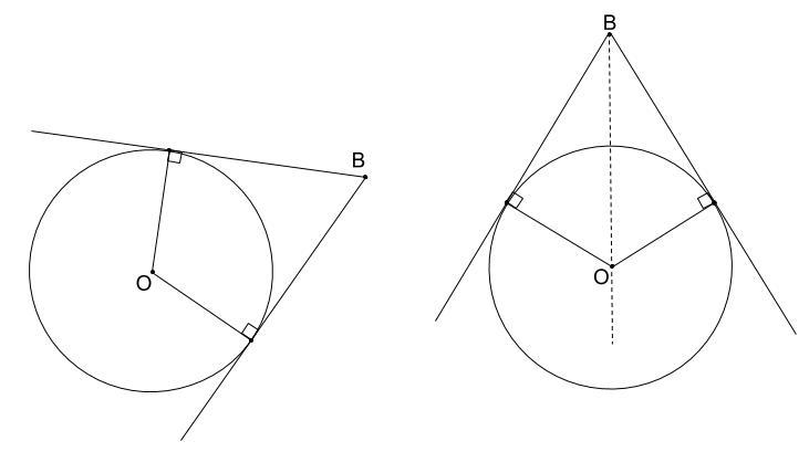 中学数学・高校受験chu-su- 図形用語 円の接線は2本