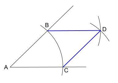 中学数学・高校受験chu-su- 作図 ひし形1-2 図4