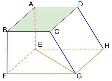 中学数学・高校受験chu-su- 面と直線の位置関係 図