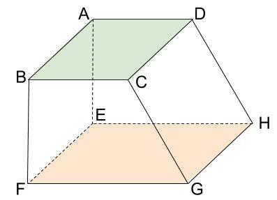 中学数学・高校受験chu-su- 面と面が平行の図