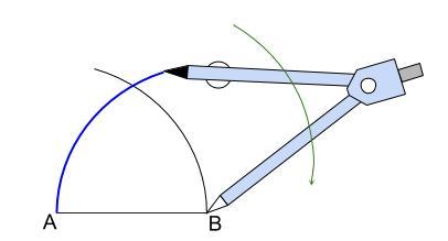 中学数学・高校受験chu-su- 作図 正三角形  図4