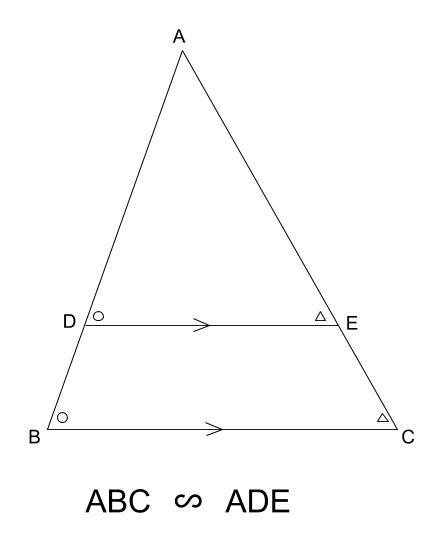 中学数学・高校受験chu-su- 相似 ピラミッド型 図1