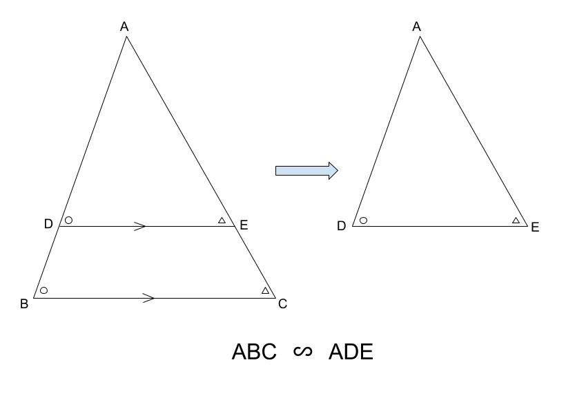 中学数学・高校受験chu-su- 相似 ピラミッド型 図2