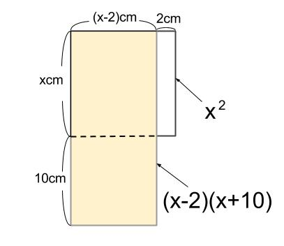 中学数学・高校受験chu-su- 2次方程式 文章題 面積 図2