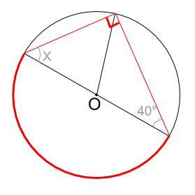 中学数学・高校受験chu-su- 円周角の定理 例題5 図2