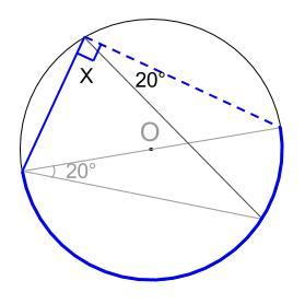 中学数学・高校受験chu-su- 円周角の定理 例題7 図3