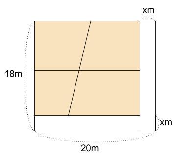 中学数学・高校受験chu-su- 2次方程式 図形 問題2 図2