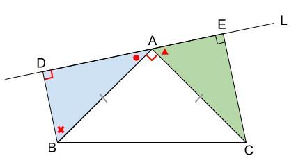 中学数学・高校受験chu-su- 証明 直角三角形 図2-3