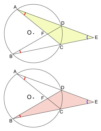 中学数学・高校受験chu-su- 円と相似 図2-2