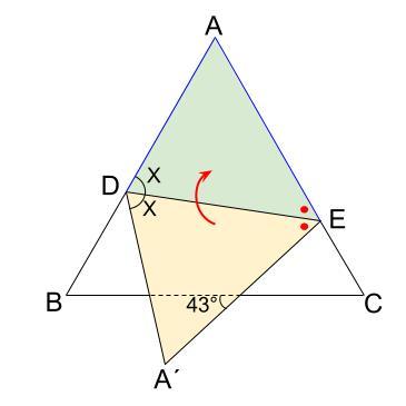 中学数学・高校受験chu-su- 求角 折り返し 1-2