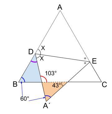中学数学・高校受験chu-su- 求角 折り返し 1-3