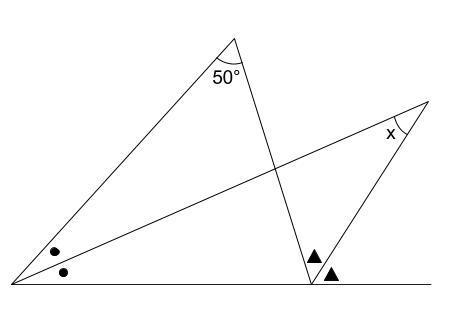 中学数学・高校受験chu-su- 求角 方程式 図2-1