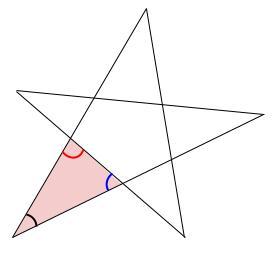 中学数学・高校受験chu-su- 求角 星 図4