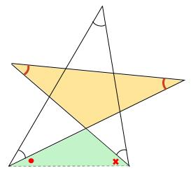 中学数学・高校受験chu-su- 求角 星 図5