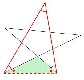 中学数学・高校受験chu-su- 求角 星 図6