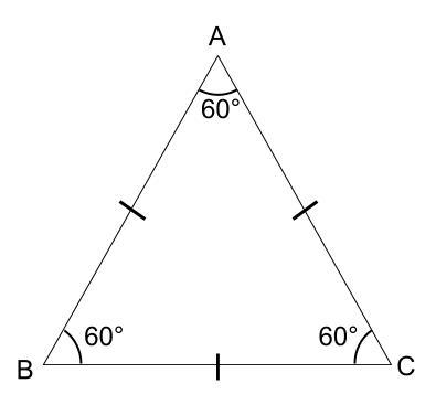 中学数学・高校受験chu-su- 図形 正三角形 図01