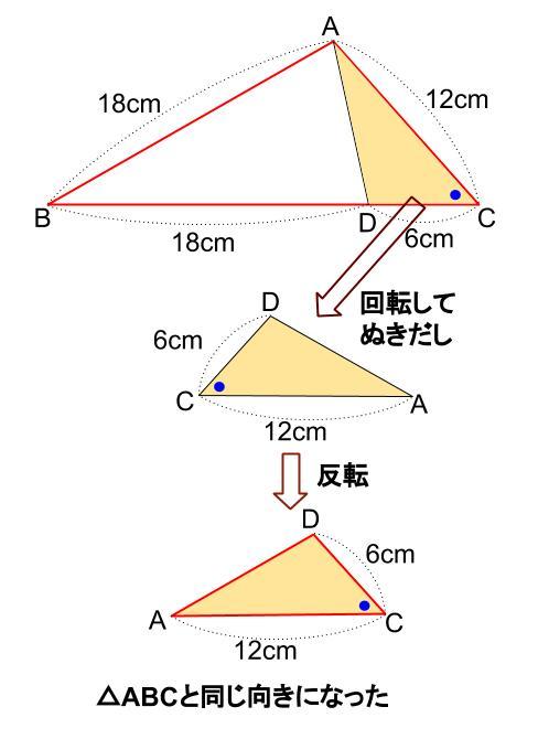 中学数学・高校受験chu-su- 証明 相似 1-4