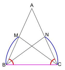中学数学・高校受験chu-su- 証明 二等辺三角形の性質 2-2