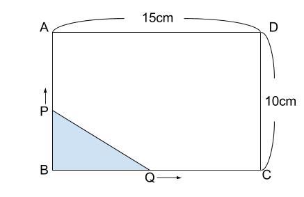 中学数学・高校受験chu-su- 2乗に比例 動点 1-1