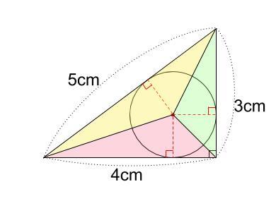 中学数学・高校受験chu-su- 三角形と内接円 図3