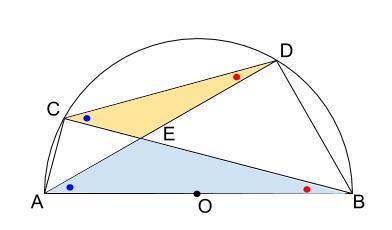 中学数学・高校受験chu-su- 円の総合問題・30度の利用 図2