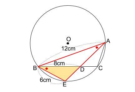 中学数学・高校受験chu-su- 円の総合問題1 図5