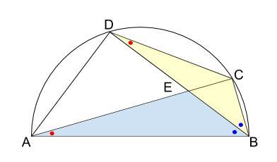 中学数学・高校受験chu-su- 円の総合問題2 図2