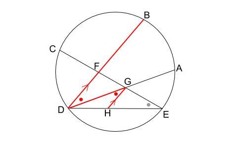 中学数学・高校受験chu-su- 円の総合問題 難問 図3