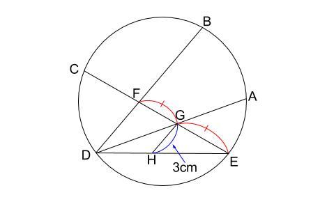 中学数学・高校受験chu-su- 円の総合問題 難問 図4