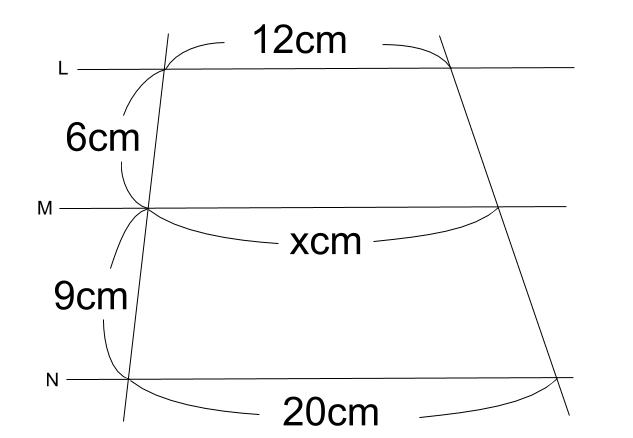 中学数学・高校受験chu-su- 平行線と線分の比 2-2