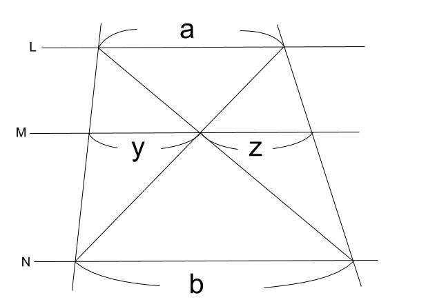 中学数学・高校受験chu-su- 平行線と線分の比 2-7
