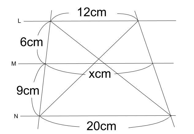 中学数学・高校受験chu-su- 平行線と線分の比 2-9