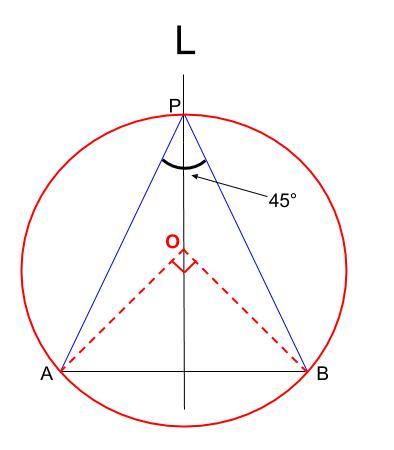 中学数学・高校受験chu-su- 作図 円周角の定理の利用3