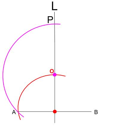 中学数学・高校受験chu-su- 作図 円周角の定理の利用5
