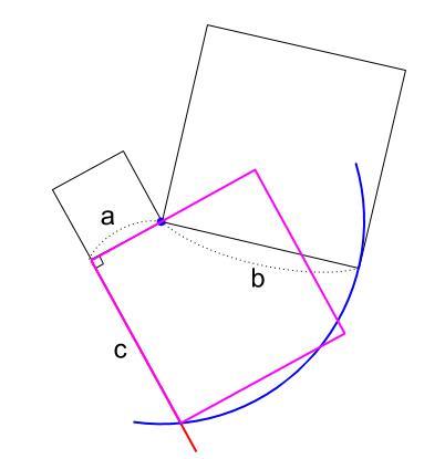 中学数学・高校受験chu-su- 作図 正方形の面積の差4