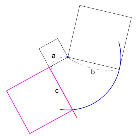 中学数学・高校受験chu-su- 作図 正方形の面積の差5