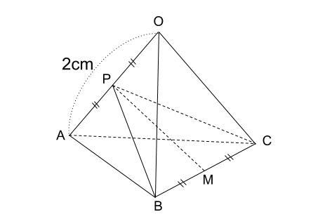 中学数学・高校受験chu-su- 正四面体の体積 図7