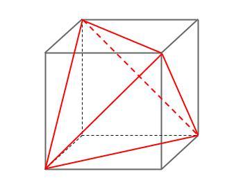 中学数学・高校受験chu-su- 正四面体の体積 図8