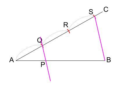 中学数学・高校受験chu-su- 線分の3等分 図5