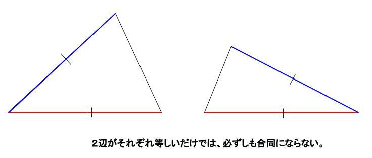 中学数学・高校受験chu-su- 合同条件 図4