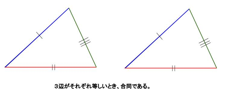 中学数学・高校受験chu-su- 合同条件 図5
