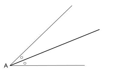 中学数学・高校受験chu-su- 作図 角の2等分 図2