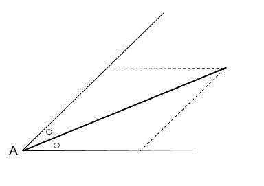 中学数学・高校受験chu-su- 作図 角の2等分 図3