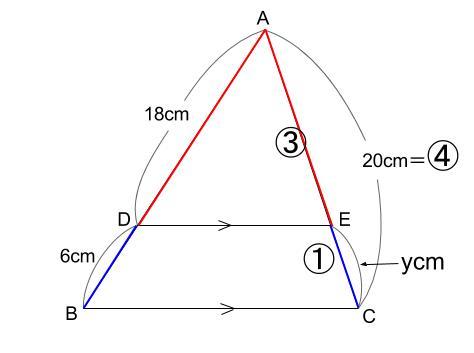 中学数学・高校受験chu-su- 例題 ピラミッド1-3