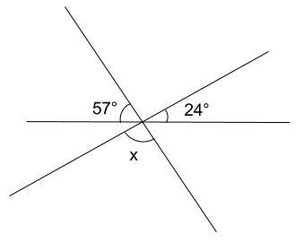 中学数学・高校受験chu-su- 対頂角の例題