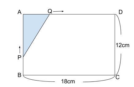 中学数学・高校受験chu-su- 2次方程式 動点 図1-1-2