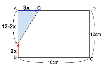 中学数学・高校受験chu-su- 2次方程式 動点 図1-2