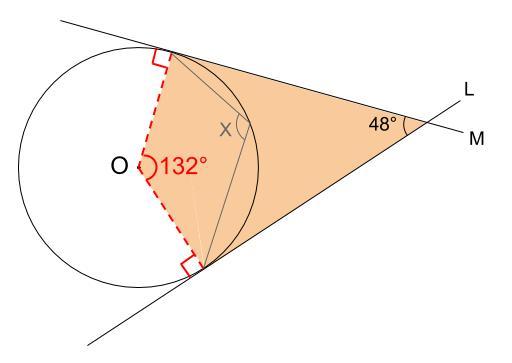 中学数学・高校受験chu-su- 円周角の定理 例題10 図3