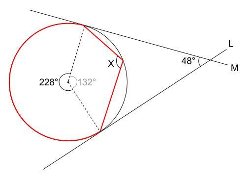 中学数学・高校受験chu-su- 円周角の定理 例題10 図4